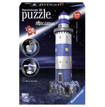 3D Puzzel Vuurtoren Night Edition