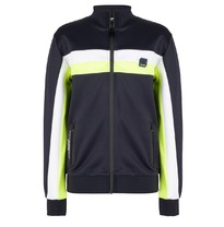 Vest met rits 'Navy / Bright Lime' (104-176)