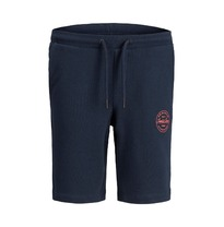 Korte sweatbroek 'jji shark' Navy (128-176)