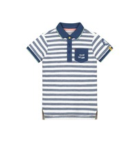 Polo 'Alwin' Blue stripes (92-152)