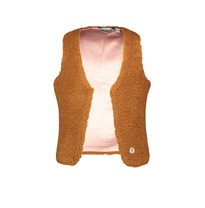 Gilet 'Fake Fur' rust (98-152)