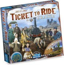 Ticket to Ride France + Old West