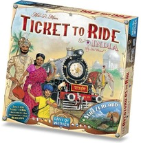 Ticket to Ride India + Switserland
