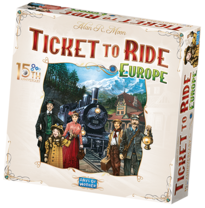 Ticket To Ride 15th Anniversary Deluxe Europe edition
